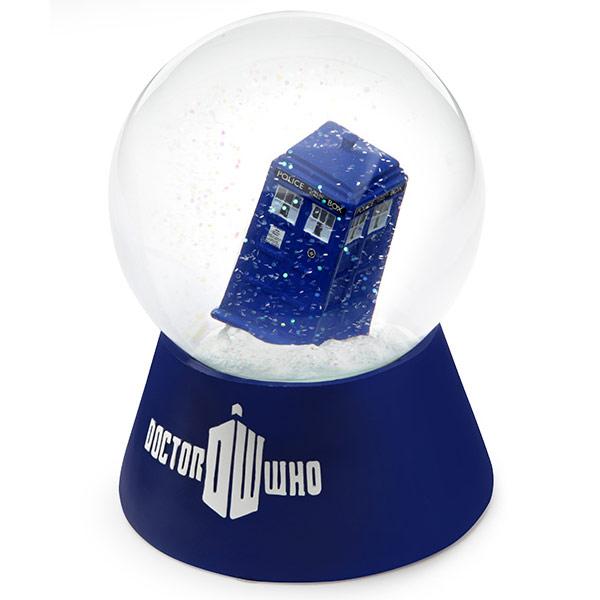 Doctor Who TARDIS Water Globe