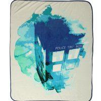 doctor-who-tardis-watercolor-throw