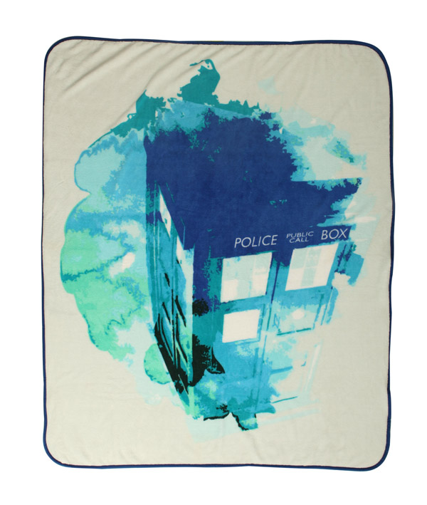 doctor-who-tardis-watercolor-throw