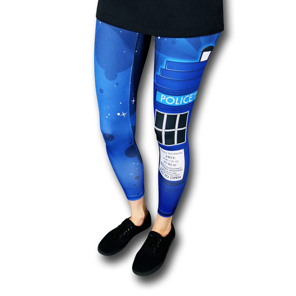 Doctor Who TARDIS Womens Leggings