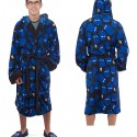 Doctor Who TARDIS and Gears Fleece Robe