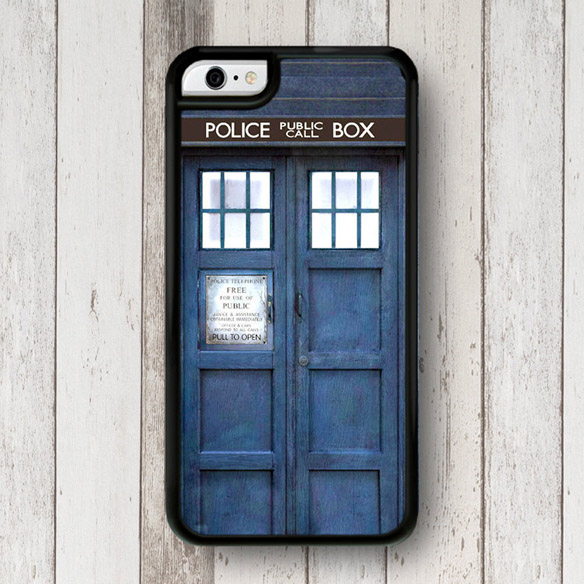 Doctor Who TARDIS iPhone Case