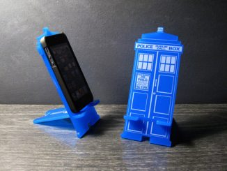 Doctor Who TARDIS iPhone Stand