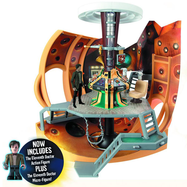 Doctor Who TARDIS with 5-Inch Figure and Mini-Figure Playset  sc 1 st  GeekAlerts & Who TARDIS with 5-Inch Figure and Mini-Figure Playset
