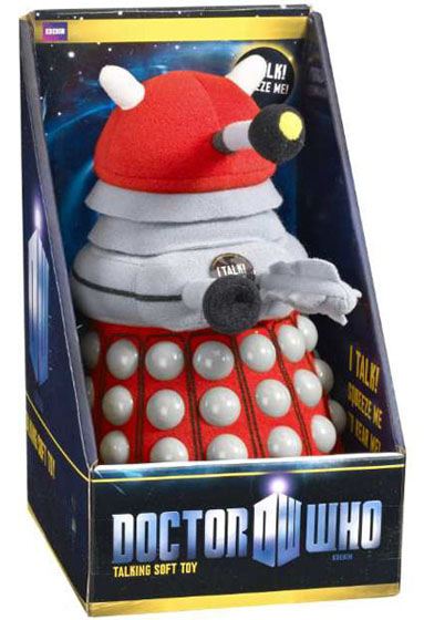 Doctor Who Talking 9 Inch Plush Dalek