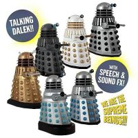 Doctor Who Talking Dalek 5 Inch Action Figure Set