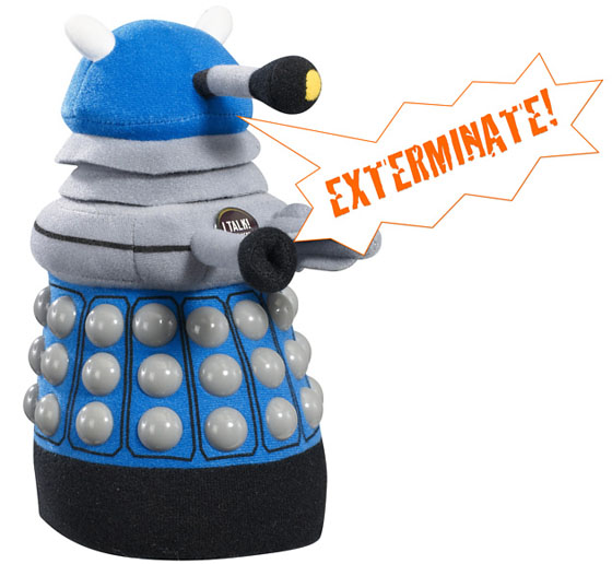 Doctor Who Talking Plush Dalek Toy