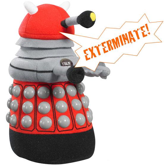 Doctor Who Talking Plush Dalek