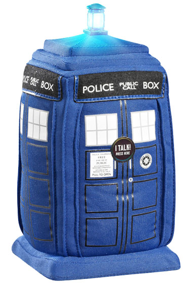 Doctor Who Talking Plush TARDIS