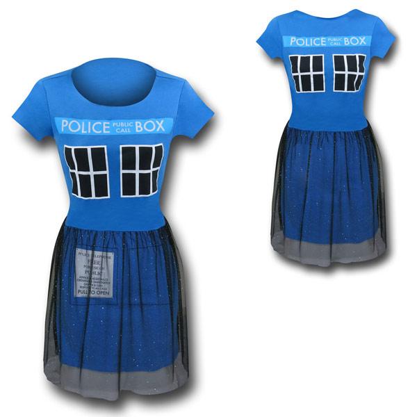 Doctor Who Tardis Ballerina Dress