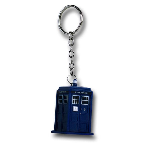 Doctor Who Tardis Flashlight Keychain