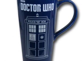 Doctor Who Tardis Heat Reactive Travel Mug