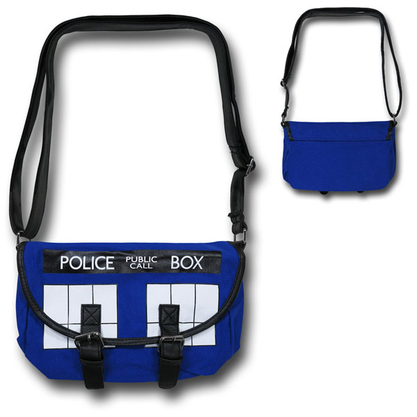 Doctor Who Tardis Messenger Bag