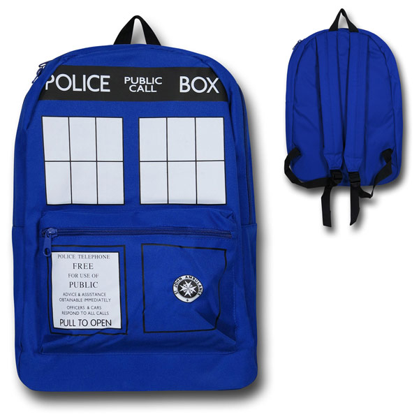 Doctor Who Tardis Polyester Backpack