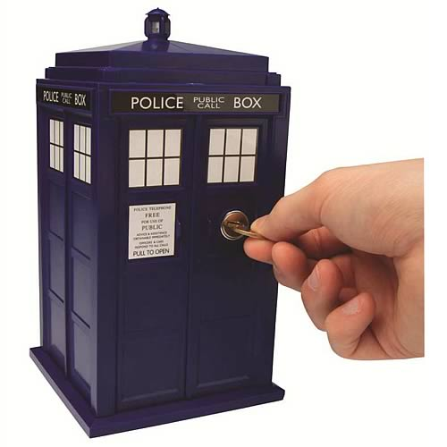 Doctor Who Tardis Safe Bank