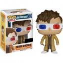 Doctor Who Tenth Doctor 3D Glasses Pop Vinyl Figure