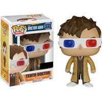 Doctor Who Tenth Doctor 3D Glasses Pop Vinyl Figure