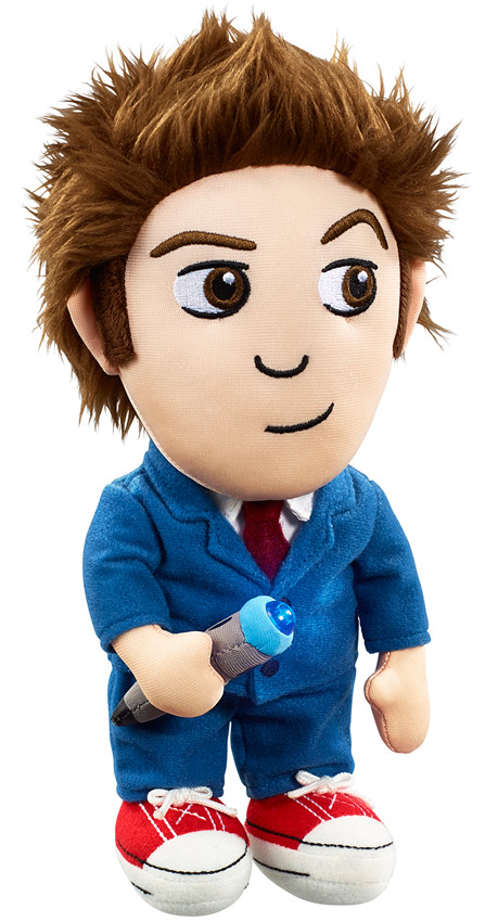 Doctor Who Tenth Doctor Light-Up Plush