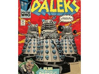 Doctor Who The Daleks Comic Book Cover Poster