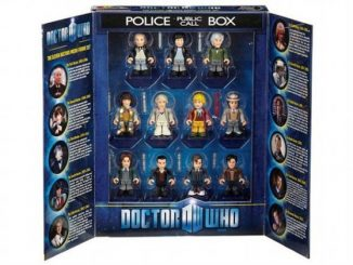 Doctor Who: The Eleven Doctors Micro-Figure Set