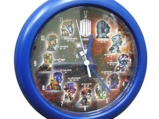 Doctor Who The Eleven Doctors Wall Clock