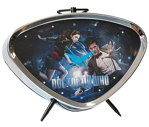 Doctor Who The Eleventh Doctor and Amy Pond Alarm Clock