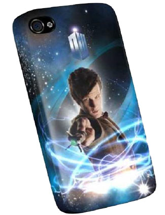 Doctor Who The Eleventh Doctor iPhone 4 Case