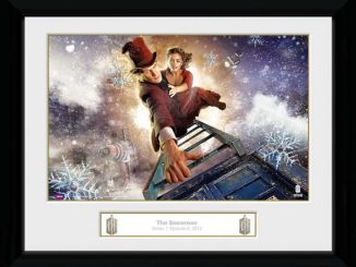 Doctor Who The Snowmen Print