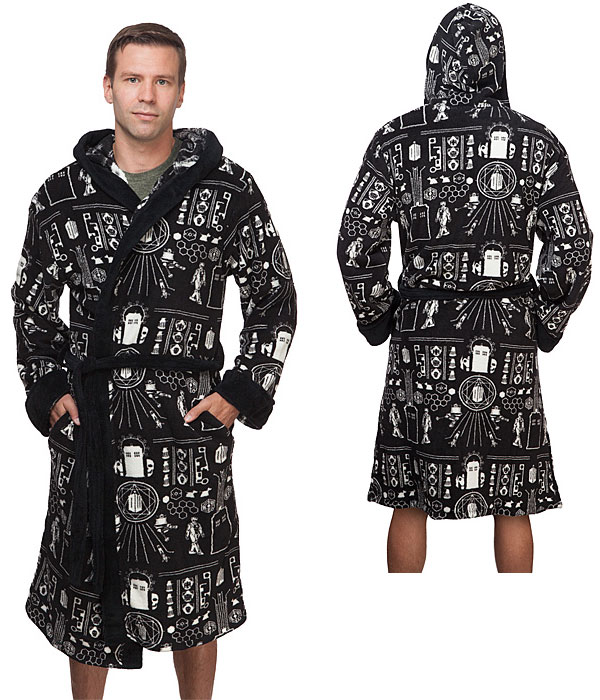 Doctor Who Time Lord Fleece Robe