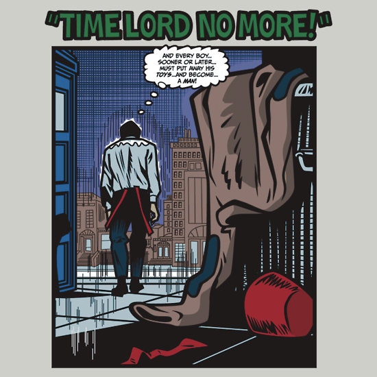 Doctor Who Time Lord No More Shirt