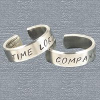 Doctor Who Time Lord and Companion Friendship Rings