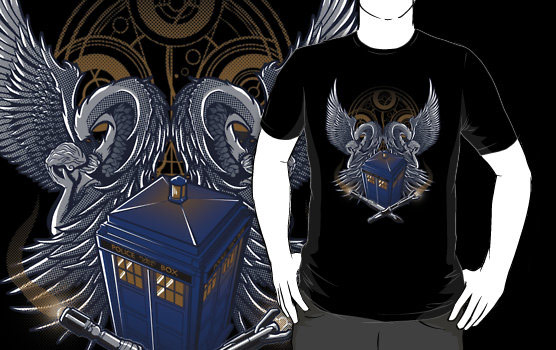 Doctor-Who-Time-Lord-and-Proud-T-Shirt