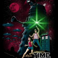 Doctor Who Time Wars T-Shirt