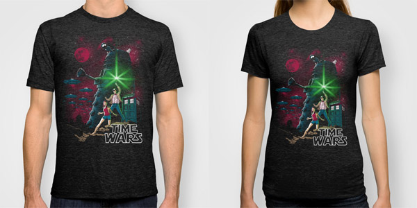Doctor Who Time Wars T-Shirts