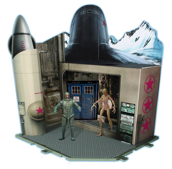 Doctor Who Time Zone Playset 2 Cold War 1983