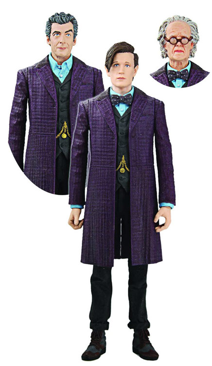 Doctor Who Time of the Doctor Action Figures