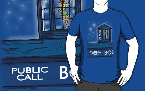 Doctor Who Tinkerbell Stowaway Shirt