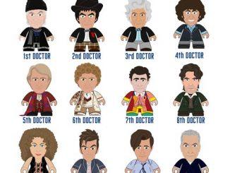 Doctor Who Titans Series 6 Regeneration Collection Random Mini-Figure
