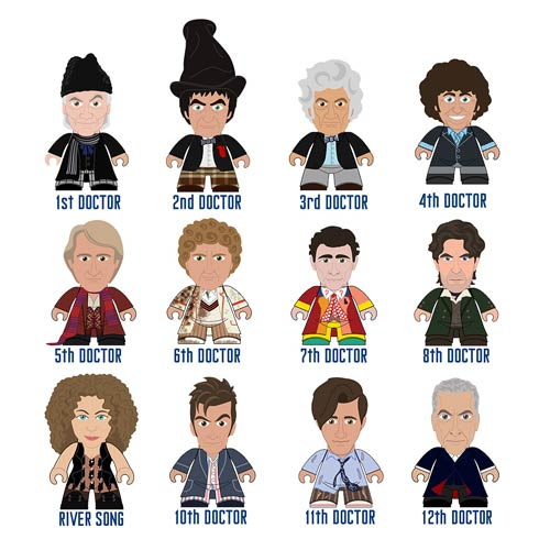 Doctor Who Titans Series 6 Regeneration Collection Random Mini-Figure