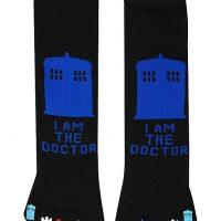 Doctor Who Toe Socks