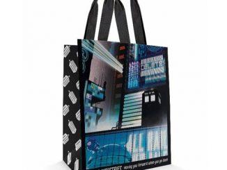 Doctor Who Tokyo TARDIS Tote Bag