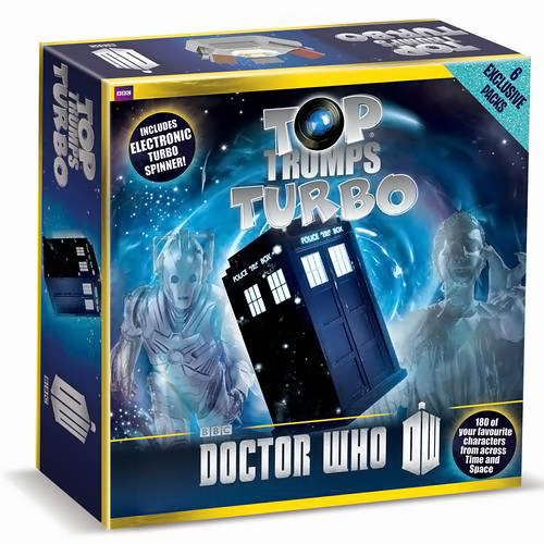 Doctor Who Top Trumps Turbo Edition