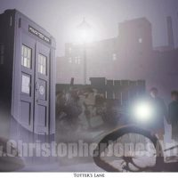 Doctor Who Totters Lane Art Print