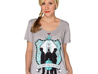 Doctor Who Trio Crest Ladies T-Shirt