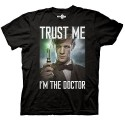 Doctor Who Trust Me I'm the Doctor Black T-Shirt