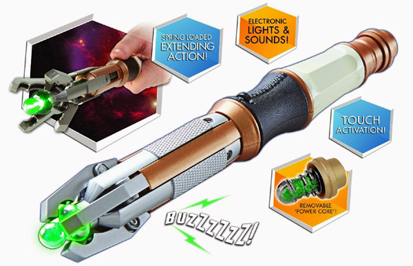Doctor Who Twelfth Doctors Touch Control Sonic Screwdriver Replica