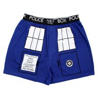 Doctor Who Van Gogh TARDIS Boxer Briefs 2-pack