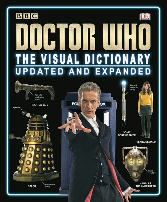 Doctor Who Visual Dictionary Hardcover Book