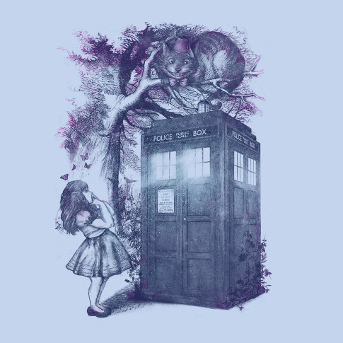 doctor-who-who-is-in-wonderland-shirt