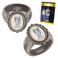 Doctor Who Weeping Angel Cameo Ring